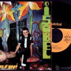 Discos de vinilo: ISABEL - FANTASMAS A GO GO / LA RUEDA - SPAIN SG PALOBAL 1970 - TVE IV FESTIVAL CANCIÓN INFANTIL. Lote 44951227