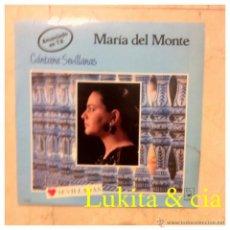 Discos de vinilo: MARÍA DEL MONTE - CÁNTAME SEVILLANAS - HORUS 1988.. Lote 44951666