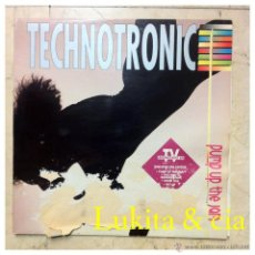Discos de vinilo: TECHNOTRONIC - PUMP UP THE JAM - MAX 1989.. Lote 44951884
