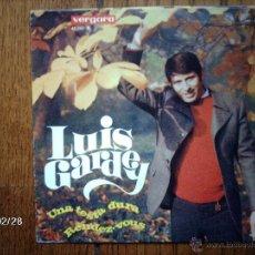 Discos de vinilo: LUIS GARDEY - UNA TESTA DURA + RENDEZ-VOUS . Lote 44953152