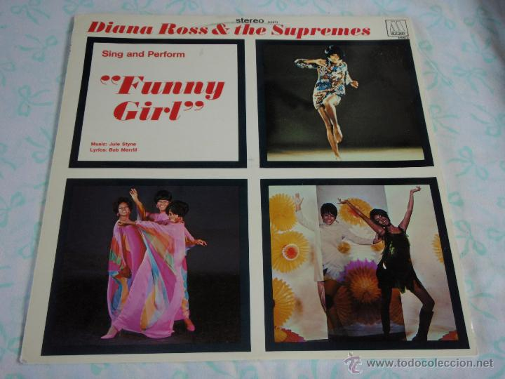 DIANA ROSS & THE SUPREMES ( FUNNY GIRL ) USA - 1968 LP33 MOTOWN