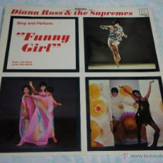 Discos de vinilo: DIANA ROSS & THE SUPREMES ( FUNNY GIRL ) USA - 1968 LP33 MOTOWN. Lote 44938268
