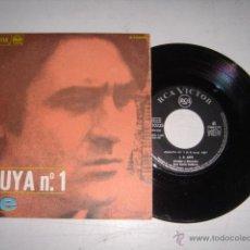 Discos de vinilo: AUTE ALELUYA Y ROJO SOBRE NEGRO AÑO 1967. Lote 44954982