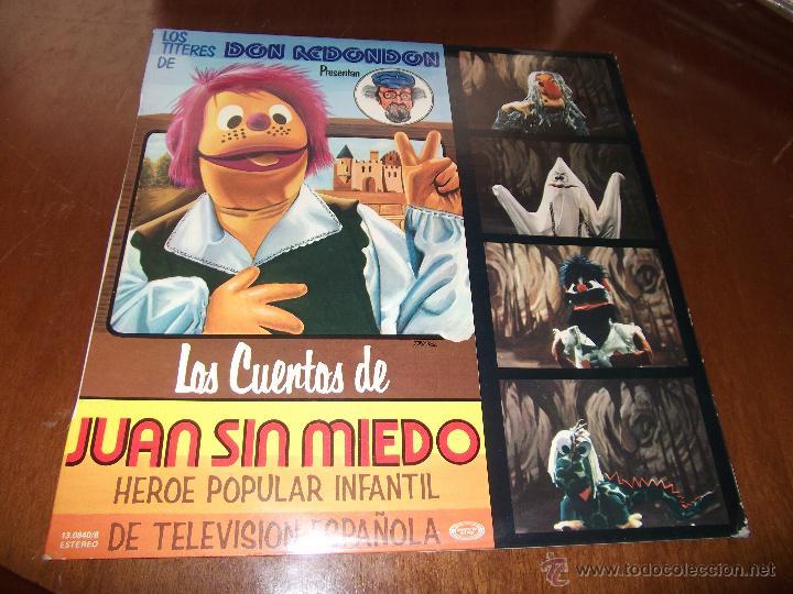 LOS TITERES DE DON REDONDON LOS CUENTOS DE JUAN SIN MIEDO-1977- (Música - Discos - LPs Vinilo - Música Infantil)