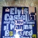 Discos de vinilo: ELVIS COSTELLO & THE ATTRACTIONS - I WANNA BE LOVED - VERONICA - 12 - MAXI . Lote 44957823