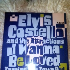 Discos de vinilo: ELVIS COSTELLO & THE ATTRACTIONS - I WANNA BE LOVED - VERONICA - 12 - MAXI. Lote 44957823