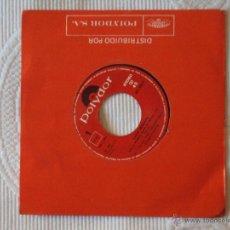 Discos de vinilo: JUAN CARLOS SENANTE, QUE LE PONGAN SALSA EL MENU (POLYDOR 1984) SINGLE - CACO. Lote 44958081