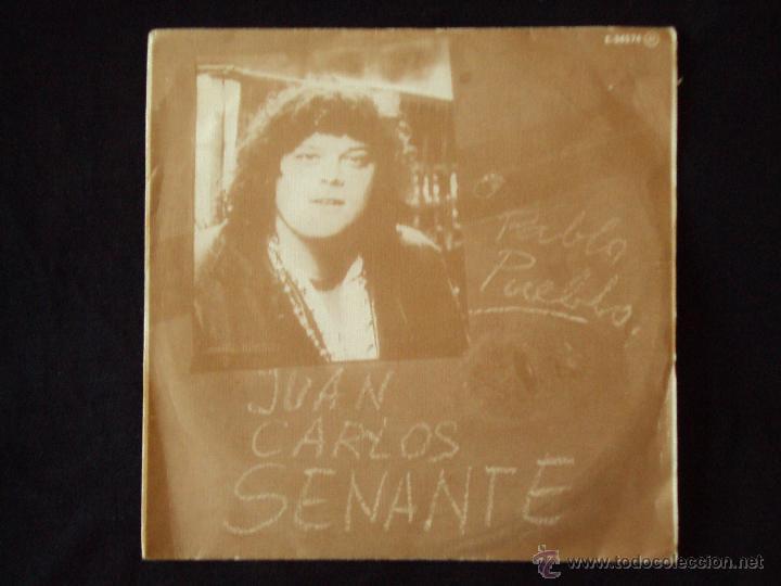 JUAN CARLOS SENANTE, PABLO PUEBLO (CGA 1980) SINGLE PROMOCIONAL (Música - Discos - Singles Vinilo - Cantautores Españoles)