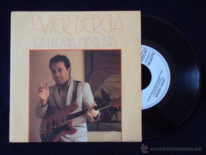 JAVIER BERGIA, LA LLUVIA ME GUSTA (EMI 1985) SINGLE PROMOCIONAL (Música - Discos - Singles Vinilo - Cantautores Españoles)