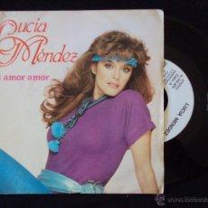 Discos de vinilo: LUCIA MENDEZ, MI AMOR AMOR (ARIOLA 1984) SINGLE PROMOCIONAL. Lote 44959251