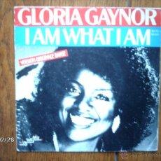 Discos de vinilo: GLORIA GAYNOR - I AMWHAT I AM + MORE THAN ENOUGH . Lote 44961301