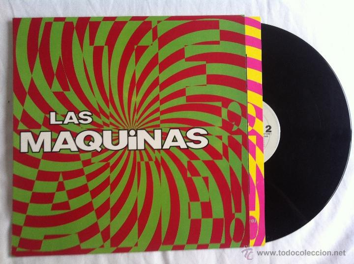 LP LAS MAQUINAS-LAS MAQUINAS (Música - Discos - LP Vinilo - Grupos Españoles de los 90 a la actualidad)