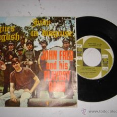 Discos de vinilo: JOHN FRED AND HISS PLAYBOY BAND,JUDY IN DISGUISE,AGNES ENGLISH AÑO 1968. Lote 44970649