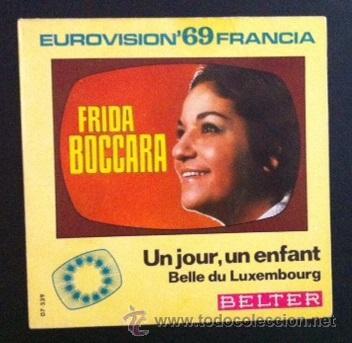 FRIDA BOCCARA - EUROVISIÓN 69 (Música - Discos - Singles Vinilo - Festival de Eurovisión)
