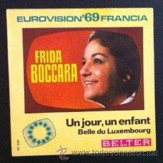 Discos de vinilo: FRIDA BOCCARA - EUROVISIÓN 69. Lote 44978668