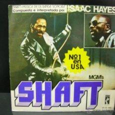 Discos de vinilo: ISAAC HAYES - SHAFT / CAFE REGIO'S - DE LA PELICULA SHAFT - EDICION ESPAÑOLA STAX 1971. Lote 44985751