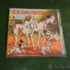 Discos de vinilo: 101 DALMATAS - CUENTO DISCO BRUGUERA-HISPAVOX HL 084-08 45 RPM. Lote 44987962