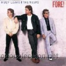 Discos de vinilo - Huey Lewis and the News - Fore! - 44991950