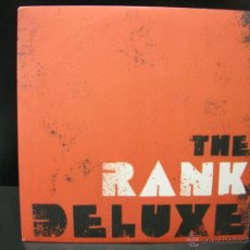 Discos de vinilo: THE RANK DELUXE - STYLE / WHAT DO YOU WANT - FATCAT UK 2006. Lote 44995537