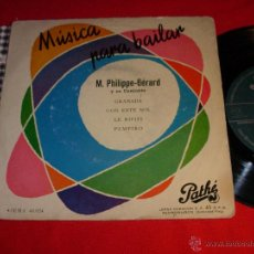 Dischi in vinile: MUSICA PARA BAILAR M.PHILIPPE - GERARD GRANADA SPAIN EP. Lote 45001518