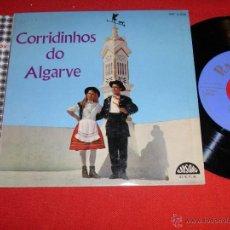 Discos de vinilo: CORRIDINHOS DO ALGARVE PELOS ACORDEONISTAS DO GRUPO FOLCLORICO DE FARO PORTUGAL EP. Lote 45002587