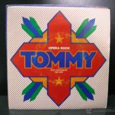 Discos de vinilo: PETE TOWNSHEND & THE WHO - TOMMY BSO - LISTENING TO YOU / OVERTURE - POLYDOR PROMO 1975. Lote 45003140