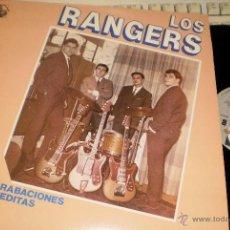 Discos de vinilo: LOS RANGERS LP HISTORIA DE LA MUSICA POP EN ESPAÑA N.12 ESPAÑA 1984. Lote 87187886