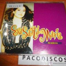 Discos de vinilo: EVA SANTAMARIA HOMBRES CD SINGLE PLASTICO TEMA FESTIVAL EUROVISION ESPAÑA 1993. Lote 31996402