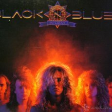 Discos de vinilo: BLACK ´N BLUE IN HEAT LP EDIC. USA KISS MOTLEY CRUE. Lote 45010859