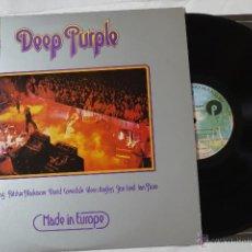 Discos de vinilo: DEEP PURPLE - LP LIVE IN EUROPE- JAPAN ORIGINAL PRESS- P10262W- EX/EX.. Lote 45015744
