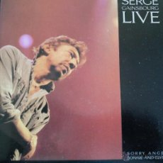 Discos de vinilo: SERGE GAINSBOURG LIVE SORRY ANGEL BONNIE AND CLYDE SINGLE. Lote 45018078