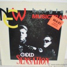 Discos de vinilo: COLD SENSATION - NEW BELGIAN MUSICTRAIN -. Lote 45019432
