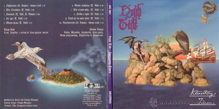 HIGH TIDE - LP INTERESTING TIMES. 180 GRAM. AKARMA - AK 091. RARE. MINT. (Música - Discos - LP Vinilo - Pop - Rock - Extranjero de los 70)