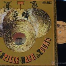 Discos de vinilo: CROSBY STILLS NASH & YOUNG - LP DEJA VU. CZECH REPUBLIC ORIG PRESS-RARE- VG+/VG+ . Lote 45020406