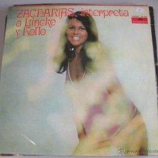 Discos de vinilo: MAGNIFICO LP DE - ZACHARIAS -. Lote 45021051
