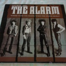Discos de vinilo: THE ALARM ( WHERE WERE YOU HIDING WHEN THE STORM BROKE? - PAVILION STEPS - WHAT KIND OF HELL ) 1984. Lote 45022306