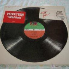 Discos de vinilo: VELVETEEN ( WILD RAIN - PREOCCUPIED - GET WILD ) NEW YORK-USA 1983 MAXI33 ATLANTIC. Lote 45022366