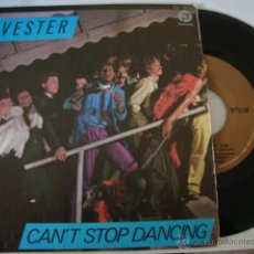Discos de vinilo: DISCO SINGLE SYLVESTER - CAN'T STOP DANCING / IN MY FANTASY - SINGLE ESPAÑOL DE 1980. Lote 45024240