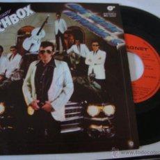 Discos de vinilo: DISCO SINGLE MATCHBOX.. DINAMOS DE MEDIANOCHE, EL AMOR ESTÁ PASANDO DE MODA.. Lote 45024277