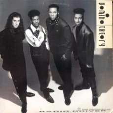 Discos de vinilo: DOMINO THEORY - RADIO DRIVER . MAXI SINGLE . 1990 RCA USA - 9172-1-RD . Lote 45025880