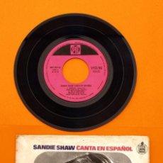 Discos de vinilo: SANDIE SHAW - MAÑANA - HISPA VOX -. Lote 45032047