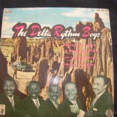 Discos de vinilo: EP THE DELTA RYTHM BOYS // BUONGIORNO AMORE + 3. Lote 45033773