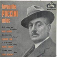 Discos de vinilo: ARIAS DE PUCCINI. O MIO BAMBINO CARO. DECCA 1967.. Lote 45035512