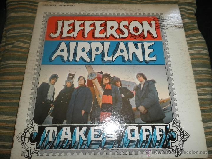 JEFFERSON AIRPLANE - TAKES OFF LP - ORIGINAL U.S.A. - RCA VICTOR 1966 EN STEREO - (Música - Discos - LP Vinilo - Pop - Rock Extranjero de los 50 y 60)