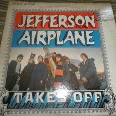 Discos de vinilo: JEFFERSON AIRPLANE - TAKES OFF LP - ORIGINAL U.S.A. - RCA VICTOR 1966 EN STEREO -. Lote 45039809