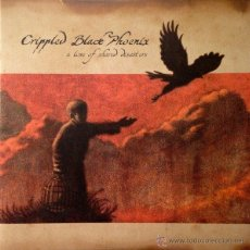 Discos de vinilo: CRIPPLED BLACK PHOENIX – A LOVE OF SHARED DISASTERS,2XLP COLORED VINYL. Lote 45043749