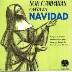 Discos de vinilo: SOR CAMPANAS, EP, AMIGOS, ES NAVIDAD + 3, AÑO 1966. Lote 45051654