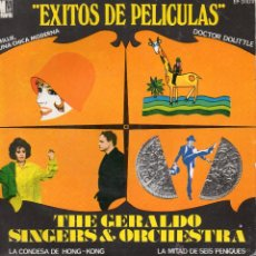 Discos de vinilo: GERALDO SINGERS & ORCHESTRA, EP, MILLIE, UNA CHICA MODERNA + 3, AÑO 1968. Lote 45052319
