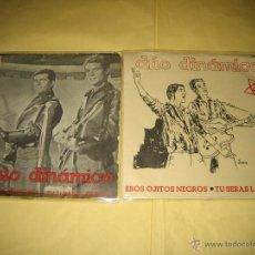 Discos de vinilo: DUO DINAMICO - LOTE DE DOS SINGLES RAROS . Lote 45058194