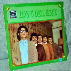 Discos de vinilo: LOS 5 DEL ESTE - LP VINILO 12'' - EDITADO EN ESPAÑA - 12 TRACKS - MUY BUEN ESTADO - REGAL 1969. Lote 45062971